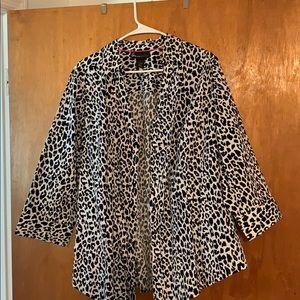 Leopard colored shirt